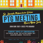 Join our 2021 to 2022 PTG Board flyer image