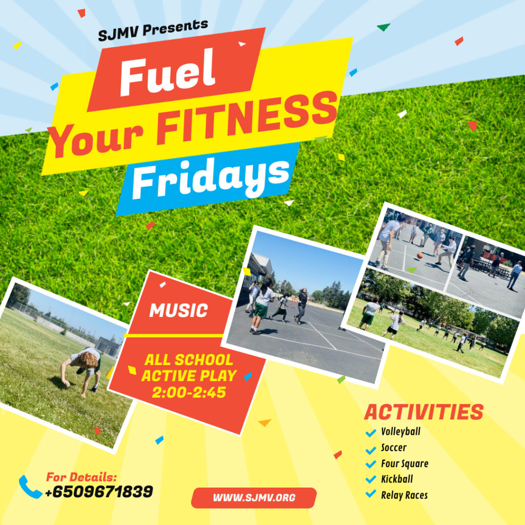 Fuel your Fitness Fridays at St Joseph Mountain View